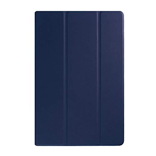Funda plegada para Sony Xperia Z4 Tablet 10.1 Pulgadas SGP771 SGP712 Cubierta magnética para Sony Xperia Z4 Tablet Ultra 10.1 Fundas-Z4-DarkBlue