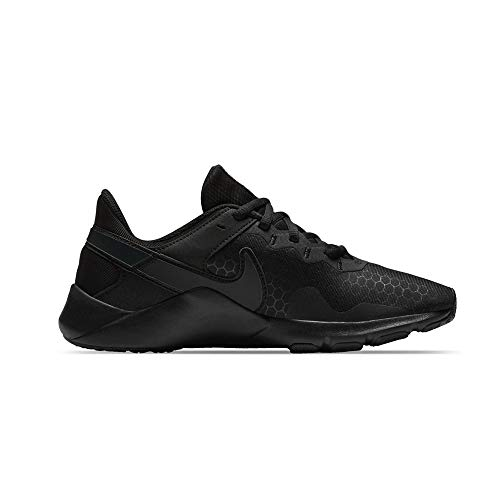 Nike Damen WMNS Legend Essential 2 Trainingsschuhe, Black/Off Noir, 38.5 EU