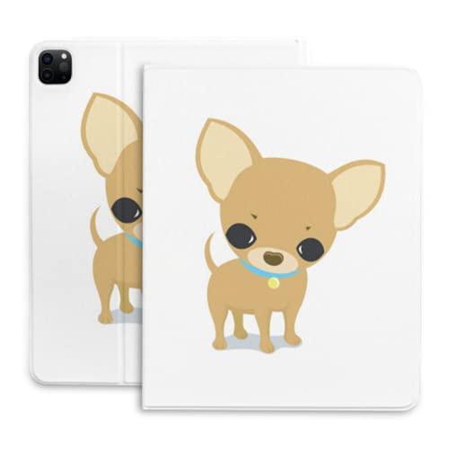 Lindo cachorro perro chihuahua dibujos animados Tablets caso para iPad Pro cubierta con lápiz titular compatible con iPad 2020 pro 11 12.9 pulgadas