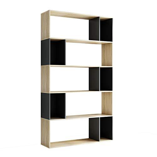 Librerias de Madera para Libros Salon Marca Homfastyle