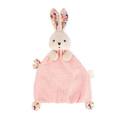 Kaloo- K'Doux-Doudou Conejo Amapolas Tela suave-20cm-Desde el Nacimiento, Color rosa pálido (JURATOYS K969949) (Cocina)