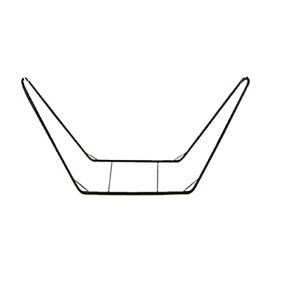 Powder-Coated Hammocks Bracket,Steel Stand Only,Load Bearing up to 440 lbs,Easily Assemble Hammocks Frame,Space-Saving Design,Double Hammock Heavy Duty,for Backyard Patio Camping (Black)