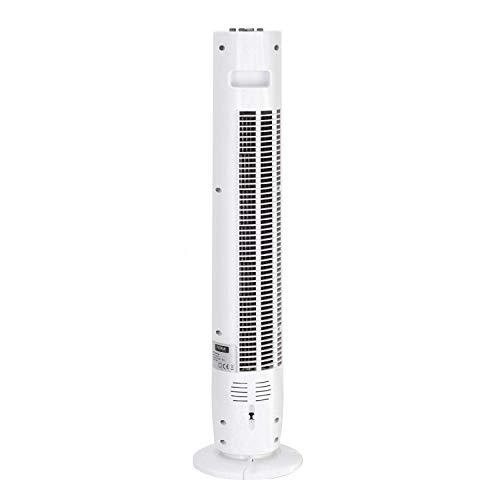 Zilan, Ventilateur colonne tour (79cm) (45W, Blanc)