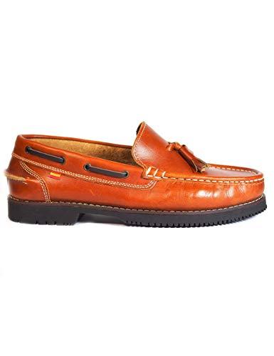 clasificación y comparación La Valenciana Montijo Honey Marine Leather Zapatos – Color – Honey, Talla – 43 para casa