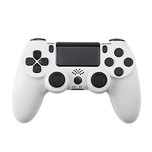 YUDEG PS4 Wireless Controller with Vibration 6-axis Game Controller for Playstation 4 (White)