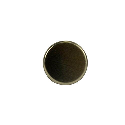 DANCO Kitchen Sink Hole Cover | Sink Plug Cover | Rust Resistant | Brushed Nickel (89478)