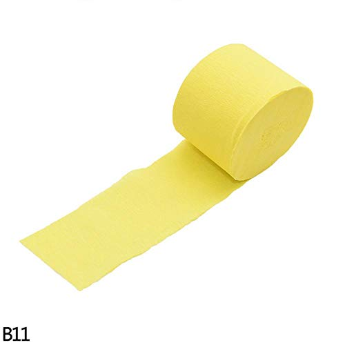 4.5 CM * 25 M Decoratieve Crinkled Crêpepapier DIY Scrapbooking Vouw Wikkelen Craft Rimpels Papierrol Bruiloft Home Decoraties, B11