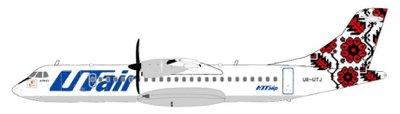 """UT Air ATR-72 """"Special Livery"""" UR-UTJ (1:200); JC2UTA775"""