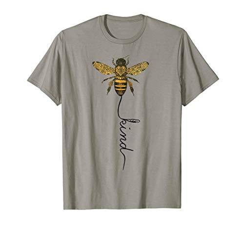 Cool Bee Kind Be Kind T Shirt Gift for Women Men
