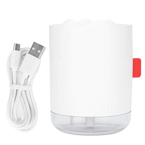 Emoshayoga Humidificador De Aire USB, Humidificador De Aire, Humidificador Portátil, Humidificador Casero De Niebla De Agua Fina para Dormitorio