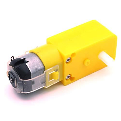 POFET 5pcs Gear Motor Dual Shaft for Smart Car Robot Arduino