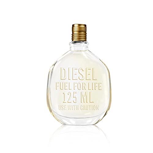 Diesel Fuel for Life, Agua de Perfume para Hombre en Vaporizador Spray, Fragancia Sensorial, 125 ml - kilograms