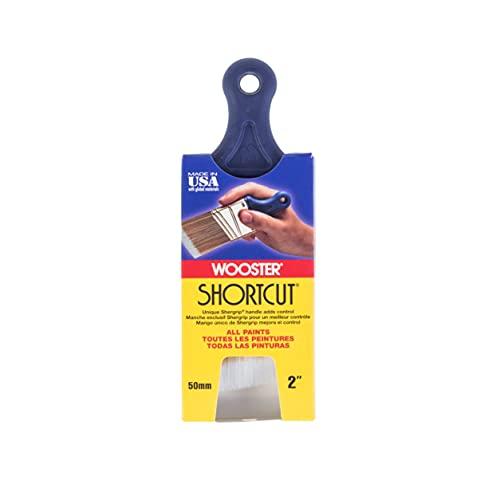 Wooster Brush Q3211-2 Shortcut Angle Sash Paintbrush, 2-Inch, White
