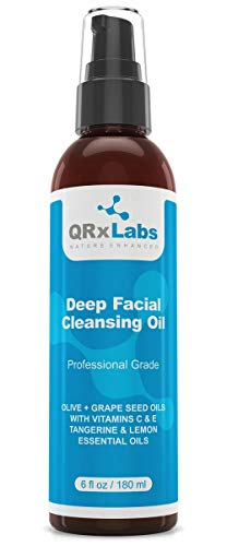 Deep Facial Cleansing Oil, QRxLabs