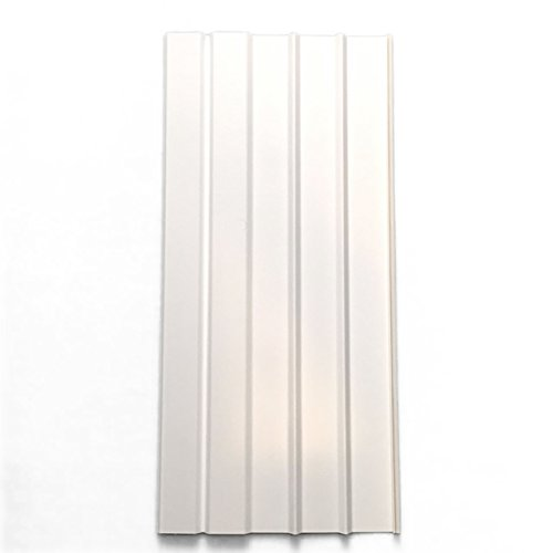 Mobile Home Vinyl Skirting Box of 8 White Solid Panels 16