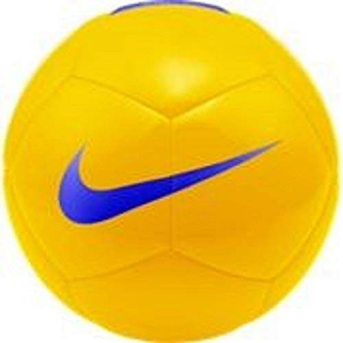 Nike Unisex Pitch Team Fußball, Yellow/Blue, 5