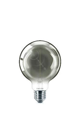 Philips LEDclassic Smoky 15W, E27, warmwit (2000 Kelvin), 136 lumen, decoratieve lamp LED-lamp, glas, 2 W, grijs