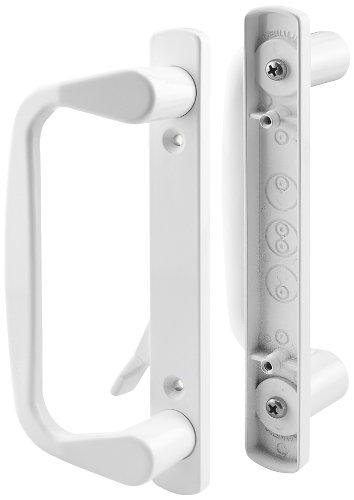Slide-Co 142264 Sliding Door Decorative Handle Set, White by Slide-Co