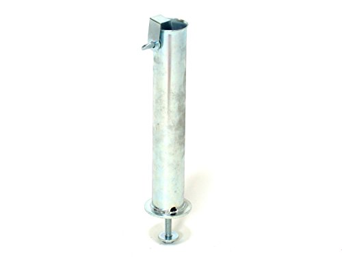 HOME 6751800 Tubo zincato mm55 per Base ombrellone Giardino Arredo da Esterno, 55 mm