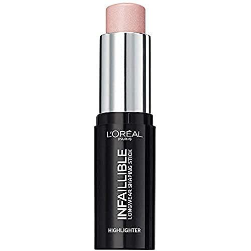 L'Oréal Paris Highlighter Makeup Infaillible Strobing, Kontur-Stick 503, 1er Pack (1 x 9 g)