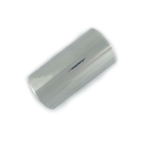 Zilveren-Toon Gemakkelijk Inpakken Oor Clip-On Manchet 1.8cm Verstelbaar Ontwerp Gewoon Mannen Dames Punk Metaal Rots Emo