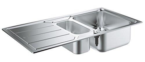 GROHE 31572SD0 - K500 Fregadero de acero inoxidable con escurridor