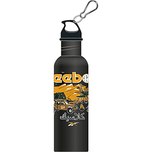 Reebok CL Roadtrip Water Bottle Botella, Adultos Unisex, Negro (Negro), Talla Única
