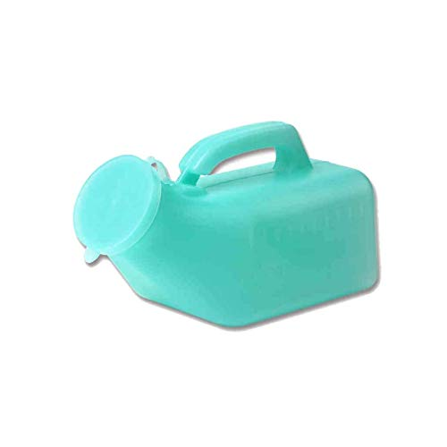 XYSQWZ Men Urinal Pee Bottles Family Mobile Toilet Camping Travel Potty Pee Bottle Emergency Potty Green 1000ml