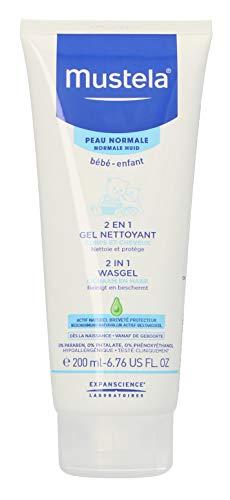 Mustela Bébé Gel pour Cheveux/Corps Tube 2 en 1 200 ml