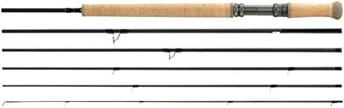 SHAKESPEARE Oracle - Caña de Pesca con Mosca, Color Negro, Talla 4,2 m