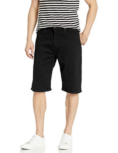 Levi's Men's 569 Loose Straight Denim Shorts, Black/Black 3D, 38