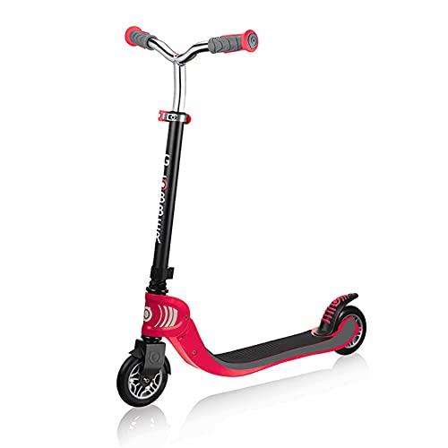 Trottinette Scooter, Facile à Scooter De Résistant à l'usure, Glisser à Travers Tous Les Types De Routes, Convient à des Enfants De 6-12 Ans(Color:Rouge)