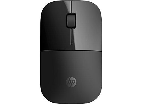 HP Z3700 Black 2.4 GHz USB Slim Wireless Mouse with Blue LED 1200 DPI...