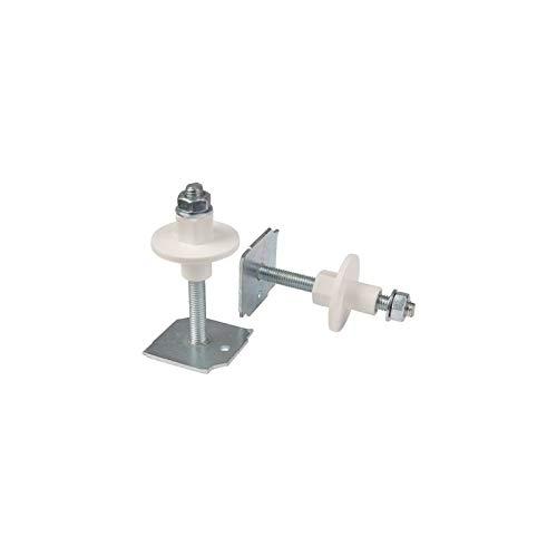 Tige avec plaquette soudée - 110 mm - Ø 8 mm - Sachet de 2 - Plombelec