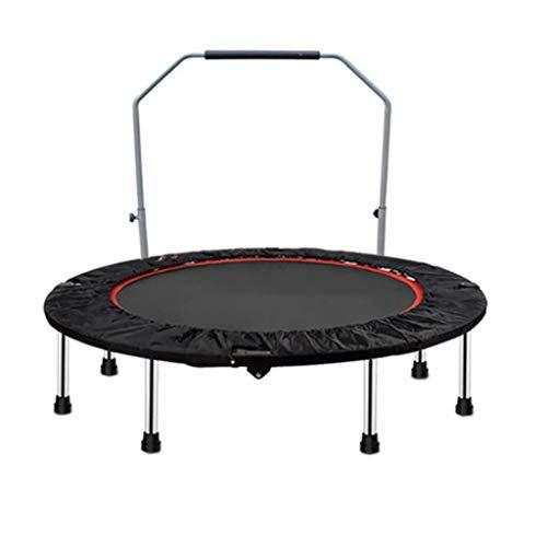 Xiao Jian Trampoline voor binnen, fitness trampoline, met afneembare U-bar, draagbaar, voor binnen en buiten