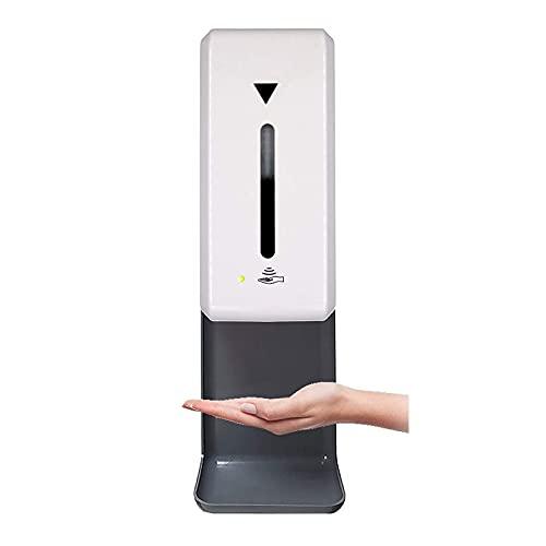 YGQNH Dispensador Automático De Desinfectante De Manos, Adhesivo Extra para Montar En La Pared Y Bandeja De Goteo, Dispensador Automático De Jabón De 1000 Ml Y 1 Litro(Color:Tipo de líquido)