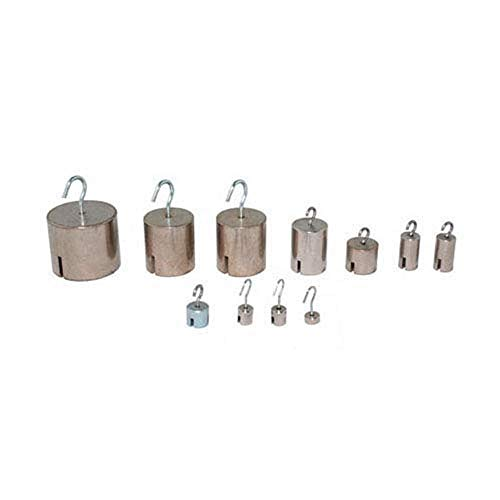Biolab MECA 110664-25 Zylindermassen mit Haken, 20 g, 25 Stück