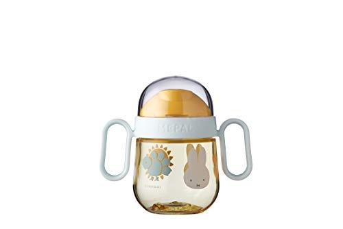Mepal Mio – Antitropf-Trinklernbecher - Miffy explore – Trinklernbecher ab 6 Monate – Baby-Trinkbecher – auslaufsicher – spülmaschinengeeignet