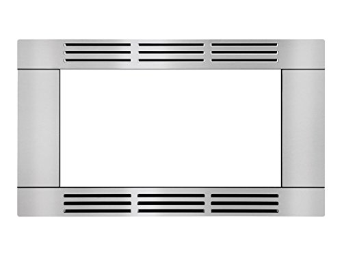 Frig Prts & Acc 30 in. Trim Kit for Built-in Microwave - Stainless Steel