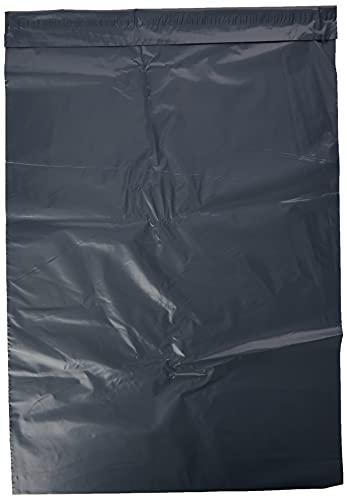25 bolsas para correo postales de 17 x 24 pulgadas, color gris