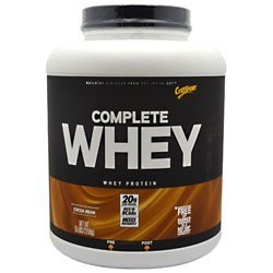 CytoSport CytoSport Complete Whey Protein, Cocoa Bean, 5 lb by...
