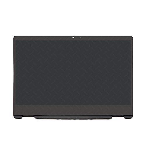 FTDLCD® para HP Pavilion x360 14-DH 14-dh0000 14-dh0101tu L51119-001 14 LED LCD pantalla táctil digitalizador Aseembly + chasis 1920 x 1080