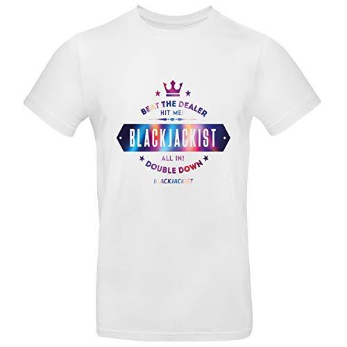 Blackjackist Beat The Dealer Mens Tee - Juego de camisetas gráficas para hombre