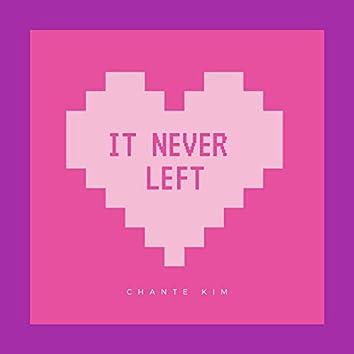 It Never Left