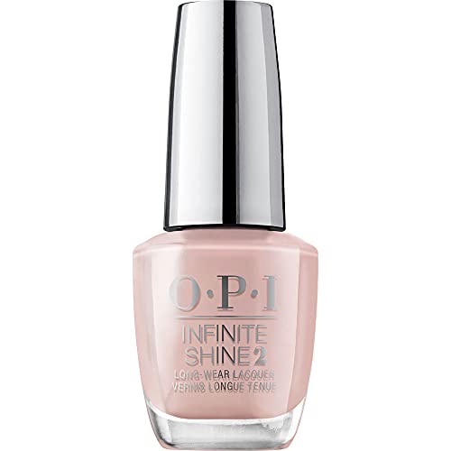 OPI Infinite Shine 2 Long-Wear Lacquer, Bare My Soul, Nude Long-Lasting Nail Polish, Always Bare For You Collection, 0.5 fl oz