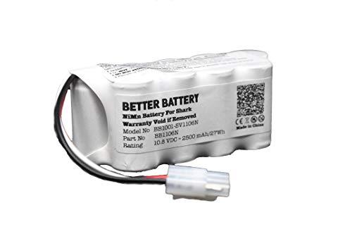 Better Battery Vacuum Battery for Shark Navigator Freestyle Cordless Stick Vacuums XBT1106N SV1110 SV1106N SV1110N SV11O6N SV116N
