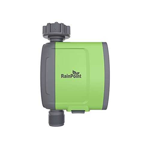 Controlador inteligente de riego de manguera, temporizador de manguera de control remoto inteligente WiFi, dispositivo de riego automático, temporizador de riego inteligente programable