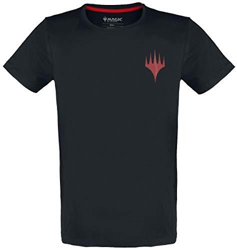 Magic: The Gathering Emblem Männer T-Shirt schwarz M 100% Baumwolle Fan-Merch, Gaming, Tabletop