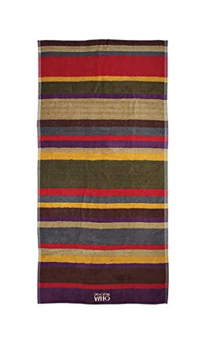 Doctor Who 30'x60' 4th Doctor Scarf Beach Towel