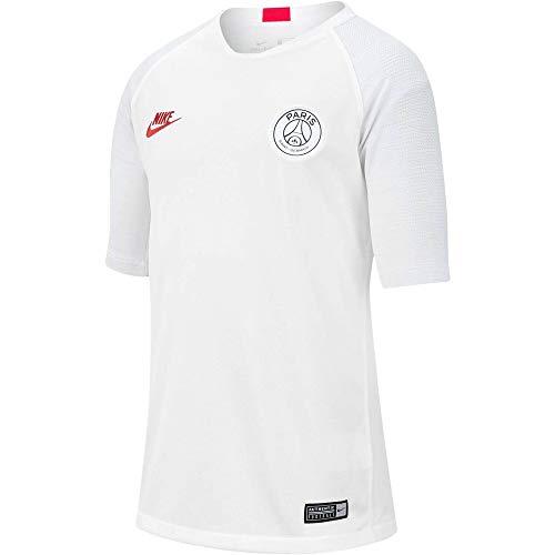NIKE PSG Y Nk BRT Strk Top SS Camiseta, Unisex niños, White/Pure...